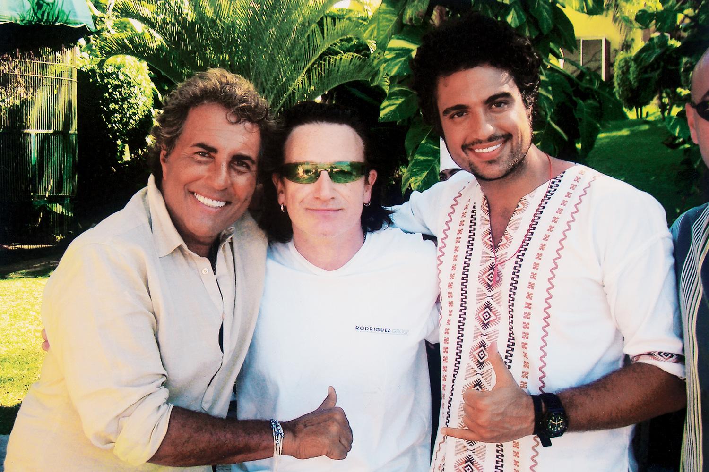 Los Camil Y Bono De U2 Una Larga Historia De Amistad Lo Sabías