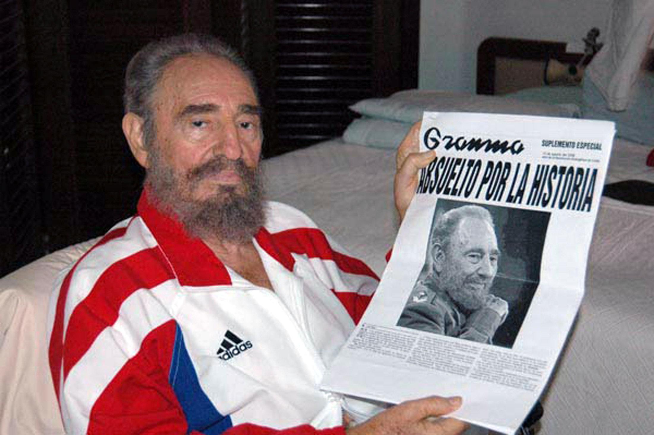 étnico Atticus casete  Por qué Fidel Castro se vestía con Adidas?